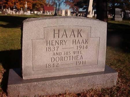 HAAK, DOROTHEA - Scott County, Iowa | DOROTHEA HAAK