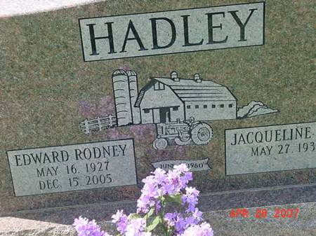 HADLEY, EDWARD RODNEY - Scott County, Iowa | EDWARD RODNEY HADLEY