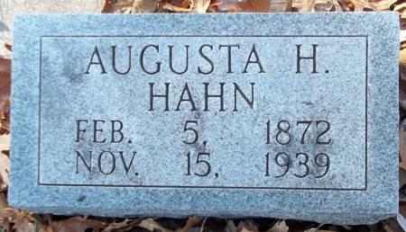 HAHN, AUGUSTA H. - Scott County, Iowa | AUGUSTA H. HAHN