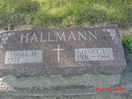 HALLMANN, JANET L - Scott County, Iowa | JANET L HALLMANN