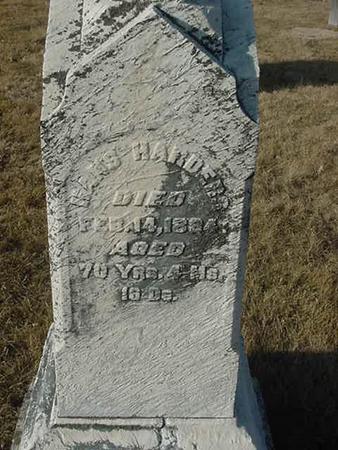 HARDERS, HANS - Scott County, Iowa | HANS HARDERS