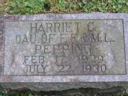 PEPPING, HARRIET C - Scott County, Iowa | HARRIET C PEPPING