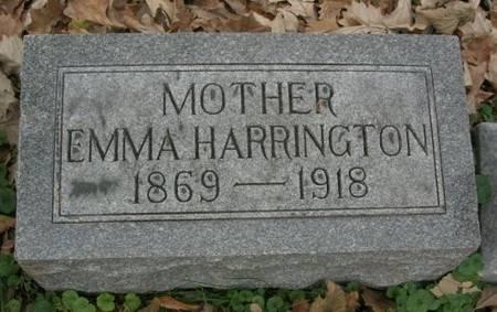 HARRINGTON, EMMA - Scott County, Iowa | EMMA HARRINGTON