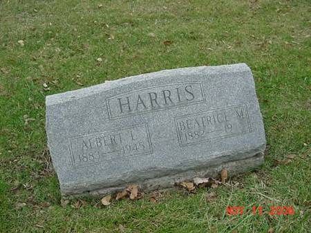 HARRIS, BEATRICE M - Scott County, Iowa | BEATRICE M HARRIS