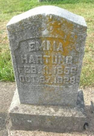 HARTUNG, EMMA - Scott County, Iowa | EMMA HARTUNG