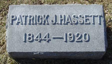 HASSETT, PATRICK J. - Scott County, Iowa | PATRICK J. HASSETT