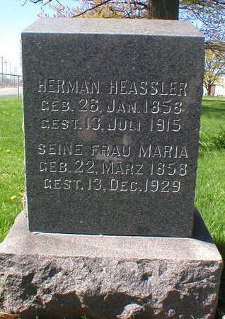 HEASSLER, MARIA - Scott County, Iowa | MARIA HEASSLER