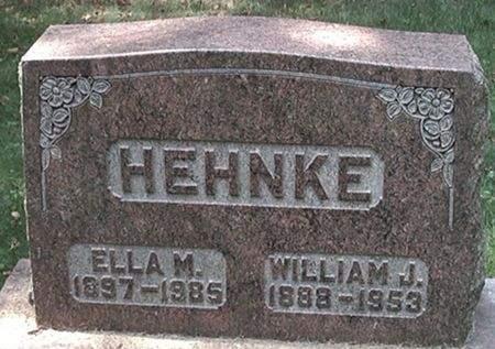 HEHNKE, WILLIAM J. - Scott County, Iowa | WILLIAM J. HEHNKE