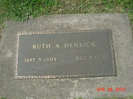HENRICK, RUTH A - Scott County, Iowa | RUTH A HENRICK
