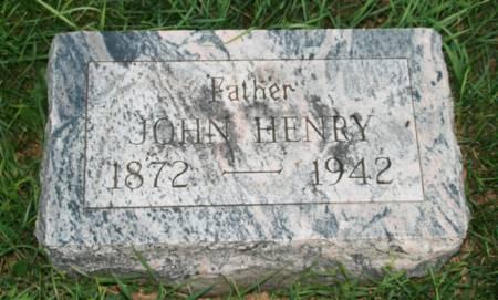 HENRY, JOHN - Scott County, Iowa | JOHN HENRY