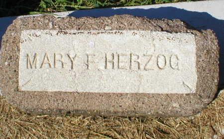 HERZOG, MARY F. - Scott County, Iowa | MARY F. HERZOG