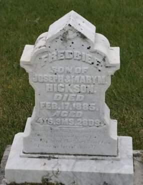 HICKSON, FREDDIE F. - Scott County, Iowa | FREDDIE F. HICKSON