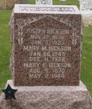 TRUCKS HICKSON, MARY M. - Scott County, Iowa   MARY M. TRUCKS HICKSON