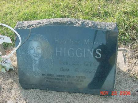HIGGINS, HEATHER MARIE - Scott County, Iowa | HEATHER MARIE HIGGINS