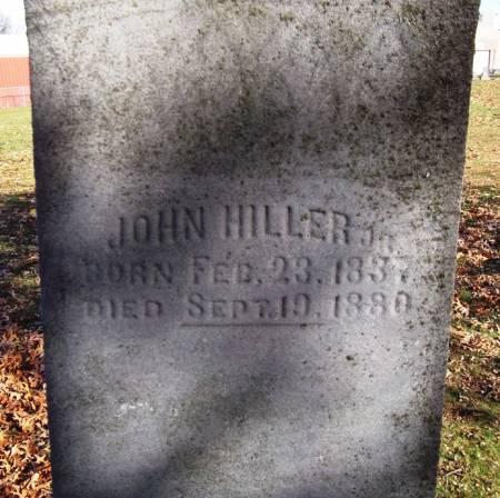 HILLER, JOHN - Scott County, Iowa | JOHN HILLER