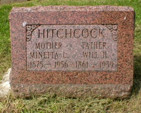 HITCHCOCK, WILL H. - Scott County, Iowa | WILL H. HITCHCOCK