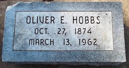 HOBBS, OLIVER E. - Scott County, Iowa | OLIVER E. HOBBS