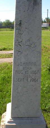 HOERING, JOHANNA - Scott County, Iowa   JOHANNA HOERING