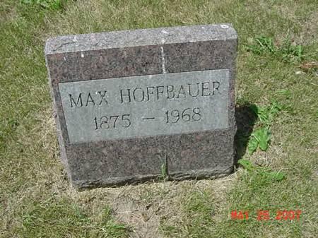 HOFFBAUER, MAX - Scott County, Iowa | MAX HOFFBAUER
