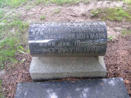HOFFMANN, AMALIE - Scott County, Iowa | AMALIE HOFFMANN