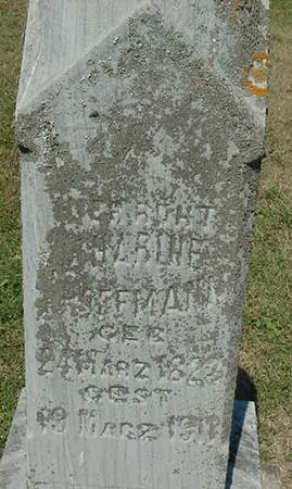 HOFFMANN, CATHERINE - Scott County, Iowa | CATHERINE HOFFMANN