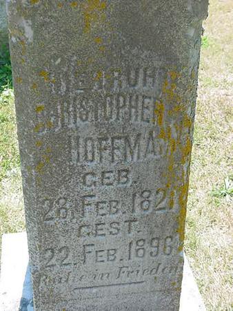 HOFFMANN, CHRISTOPHER - Scott County, Iowa | CHRISTOPHER HOFFMANN
