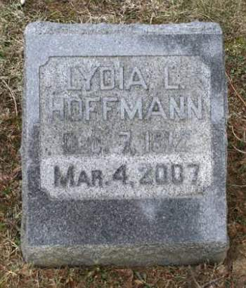 HOFFMANN, LYDIA L. - Scott County, Iowa | LYDIA L. HOFFMANN