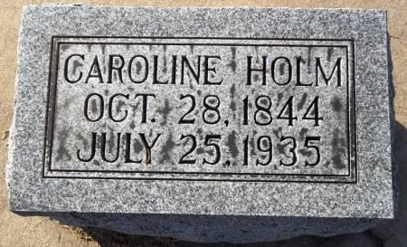HOLM, CAROLINE - Scott County, Iowa | CAROLINE HOLM