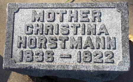 HORSTMANN, CHRISTINA - Scott County, Iowa | CHRISTINA HORSTMANN
