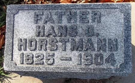 HORSTMANN, HANS C - Scott County, Iowa | HANS C HORSTMANN