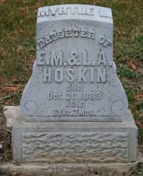 HOSKIN, MYRTLE L. - Scott County, Iowa | MYRTLE L. HOSKIN