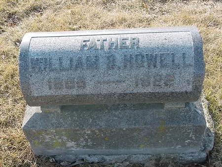 HOWELL, WILLIAM B - Scott County, Iowa   WILLIAM B HOWELL