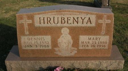 HRUBENYA, MARY - Scott County, Iowa | MARY HRUBENYA