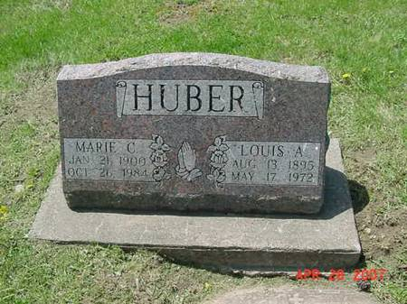HUBER, LOUIS A - Scott County, Iowa | LOUIS A HUBER