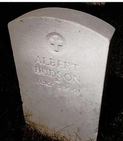 HUDSON, ALBERT - Scott County, Iowa | ALBERT HUDSON