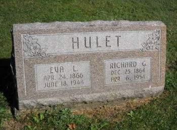 HULET, RICHARD  G. - Scott County, Iowa   RICHARD  G. HULET