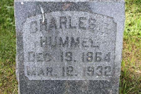 HUMMEL, CHARLES FRANKLIN - Scott County, Iowa | CHARLES FRANKLIN HUMMEL