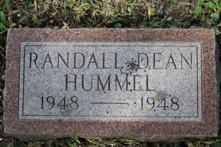 HUMMEL, RANDALL - Scott County, Iowa   RANDALL HUMMEL