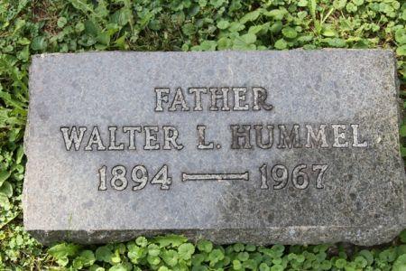 HUMMEL, WALTER LESLIE - Scott County, Iowa   WALTER LESLIE HUMMEL