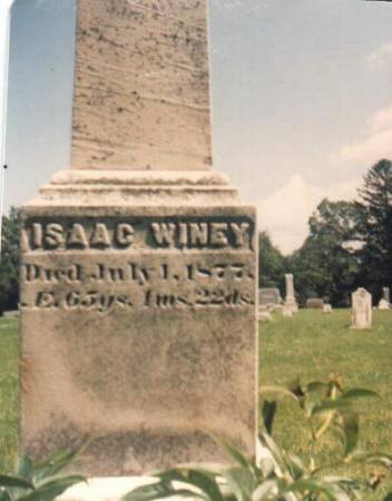 WINEY, ISAAC - Scott County, Iowa | ISAAC WINEY