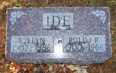 HENLEY IDE, EVELYN - Scott County, Iowa | EVELYN HENLEY IDE