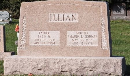 ILLIAN, FRED W - Scott County, Iowa | FRED W ILLIAN