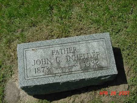 INHELDER, JOHN G - Scott County, Iowa | JOHN G INHELDER