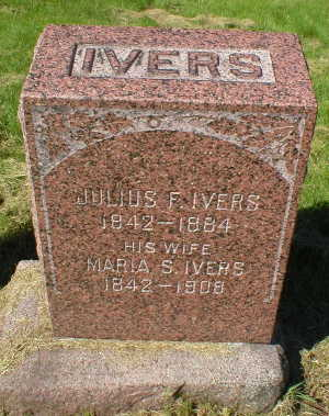 IVERS, JULIUS F. - Scott County, Iowa | JULIUS F. IVERS