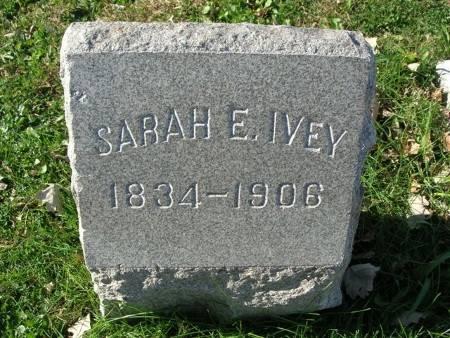 IVEY, SARAH - Scott County, Iowa | SARAH IVEY