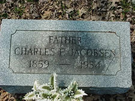 JACOBSEN, CHARLES F - Scott County, Iowa | CHARLES F JACOBSEN