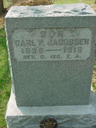 JACOBSEN, CARL P. - Scott County, Iowa | CARL P. JACOBSEN
