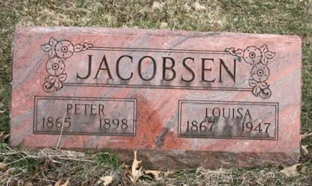 JACOBSEN, LOUISA - Scott County, Iowa | LOUISA JACOBSEN