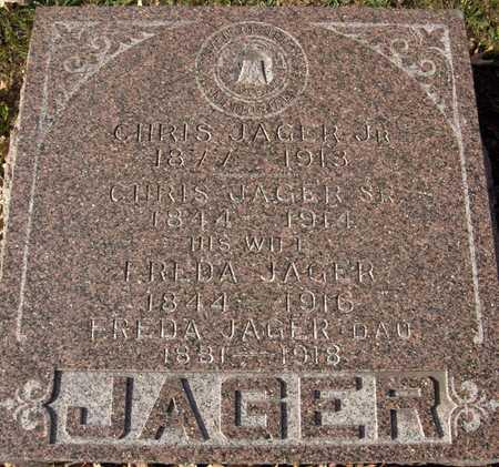 JAGER, FREDA - Scott County, Iowa | FREDA JAGER