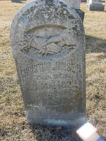 JANSEN, CHRISTINA - Scott County, Iowa   CHRISTINA JANSEN